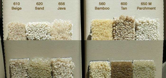 tan samples
