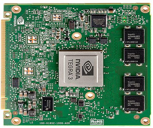 NVIDIA Tegra 3 CPU board