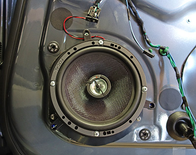 Upgrading Rear Door Speakers Teslatap