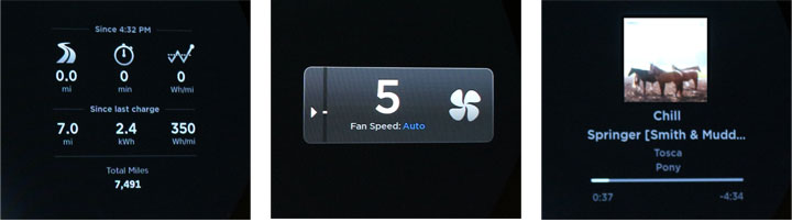 New 7.0 Side Widgets: Trips, Fan, Music