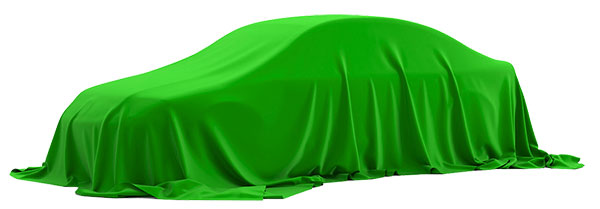 drapped car