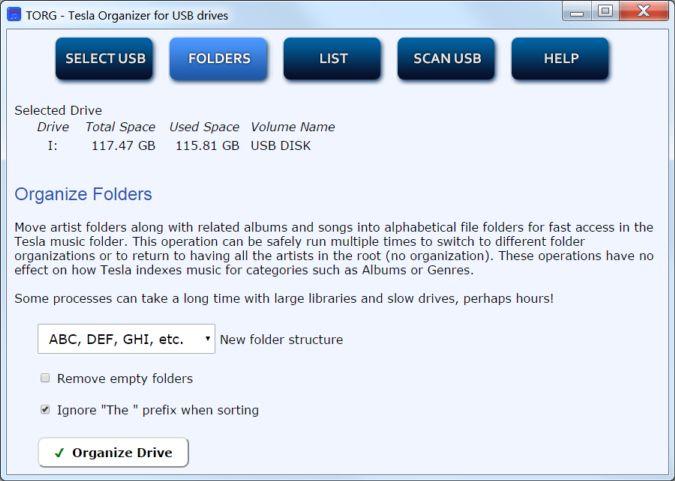 TORG Folders Organization