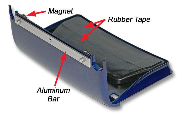 licesce plate holder assembled