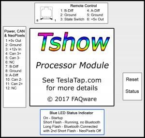 Processor Module Label