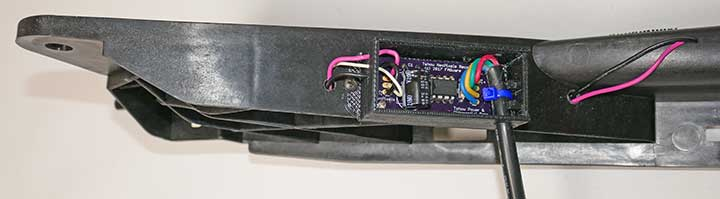 receiver atteched