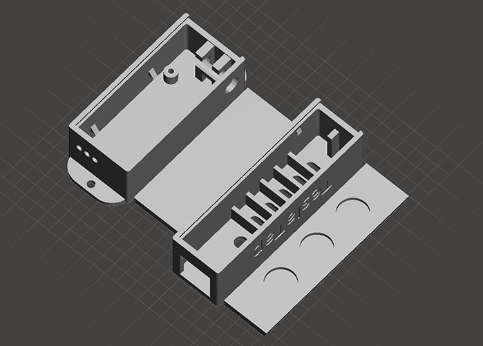 3D view of remote boxes