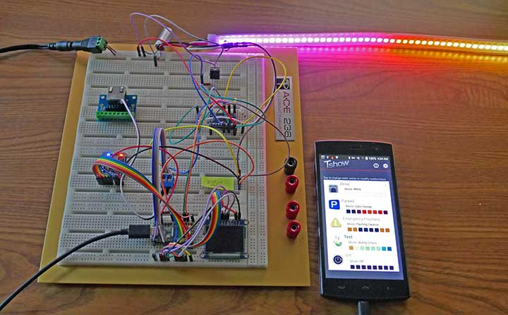 An early breadboard test