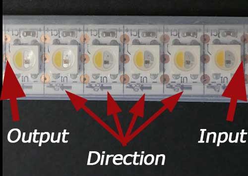 NeoPixels direction