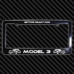 Model 3 license plate
