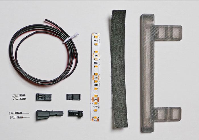 Trunk Light Kit Parts