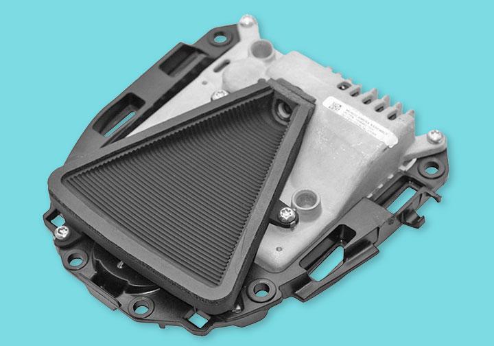 Autopilot HW1 camera and processor assembly