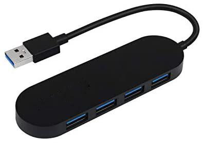 USB 4-port unpowered hub