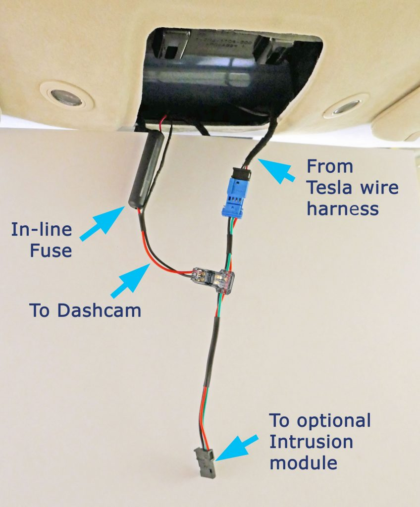 Cable in the Tesla